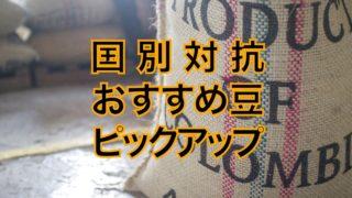 【国別】コーヒー豆おすすめ1種ピックアップ【焙煎士が厳選】
