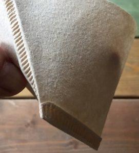 台形のペーパーの場合、折り方