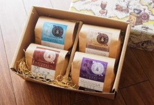 コーヒー豆4種類セット