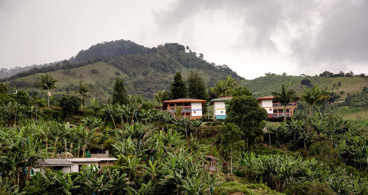 コロンビアの代表的な生産地