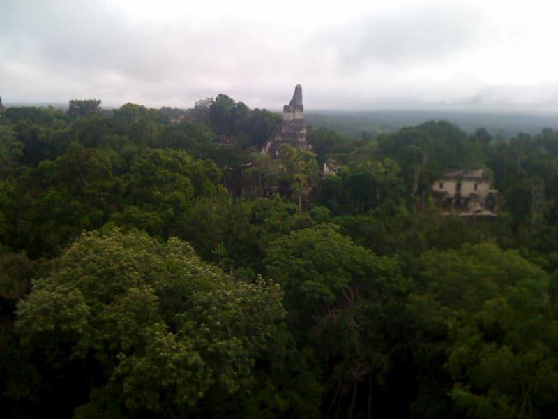グアテマラのマヤ遺跡