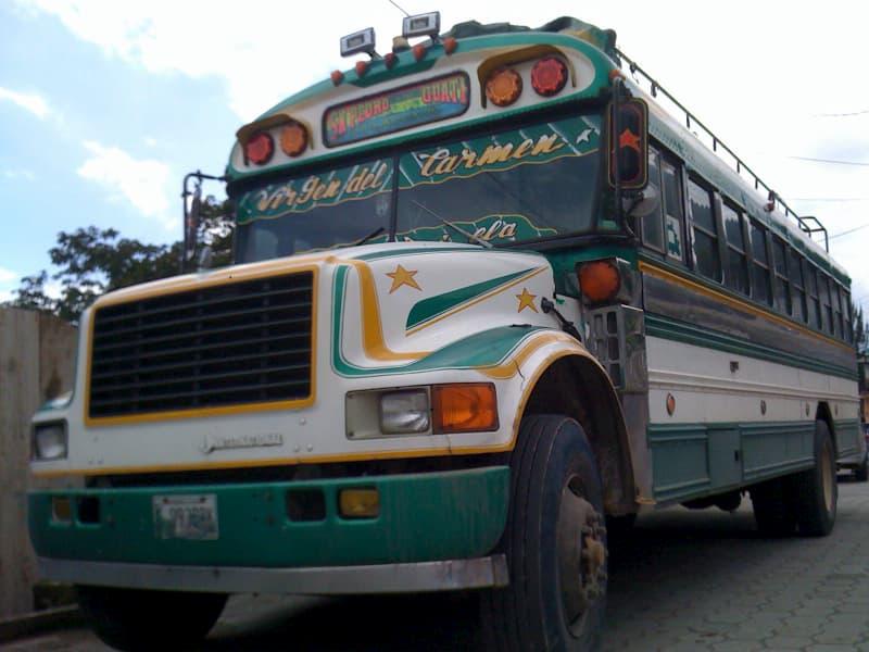 グアテマラ観光の交通事情