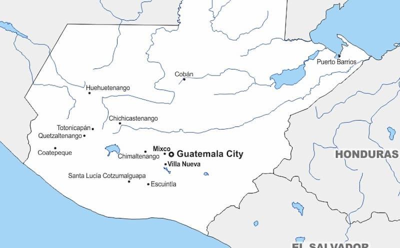 グアテマラの場所は?どこにあるの?