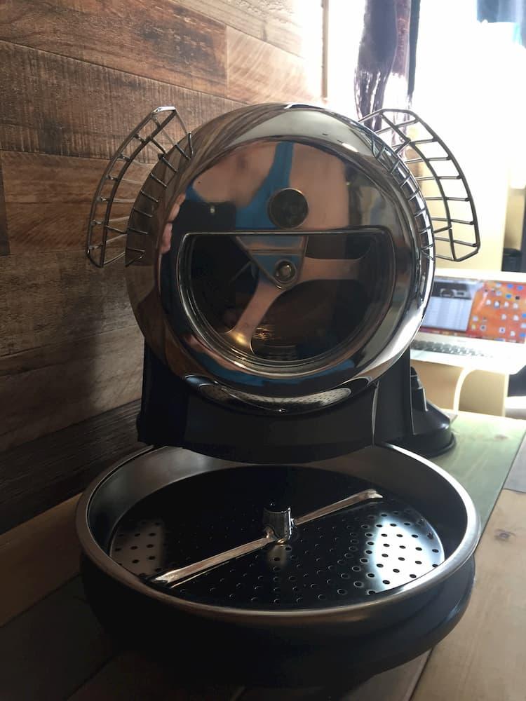 ホットトップコーヒーロースターで実際にコーヒー豆を焙煎してみる