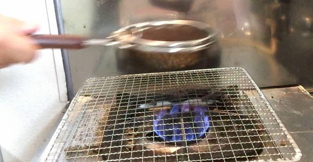 コーヒー手網焙煎のやり方・手順