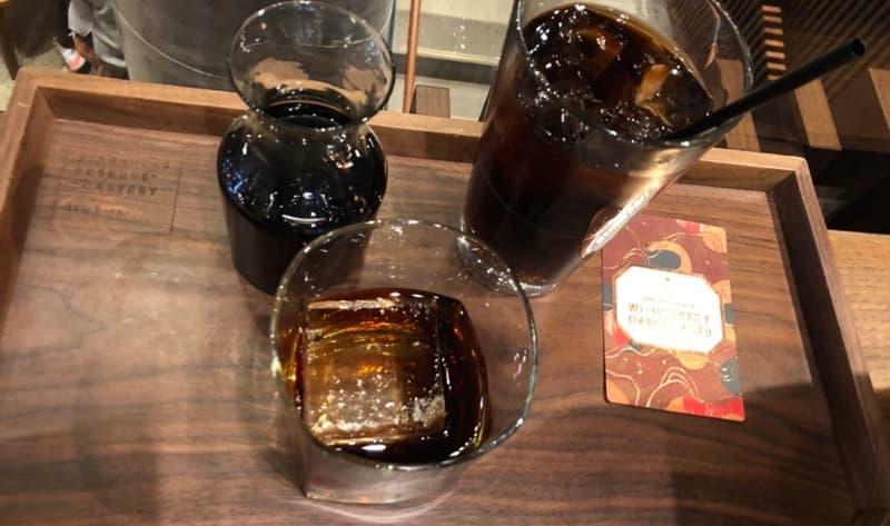 スターバックスのバレルエイジドコーヒー