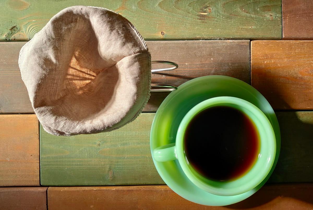 リネンフィルターで抽出されたコーヒーの風味は?