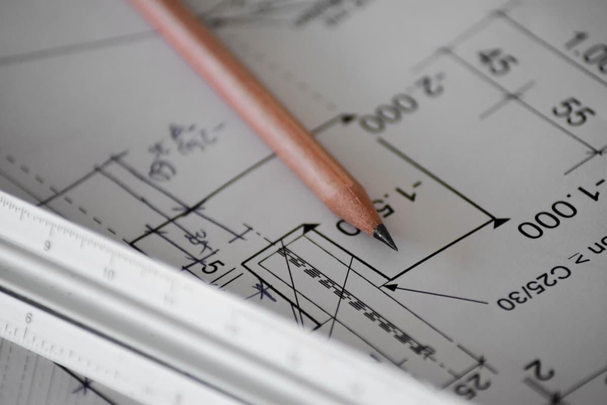 内装工事の図面の作成