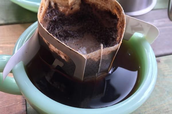 ドリップバッグコーヒー 浸かるタイプはダメ?