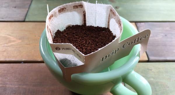 コーヒーの粉量が多い