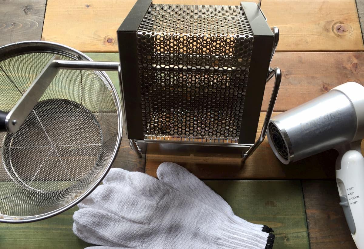 自宅でコーヒー豆焙煎する道具まとめ