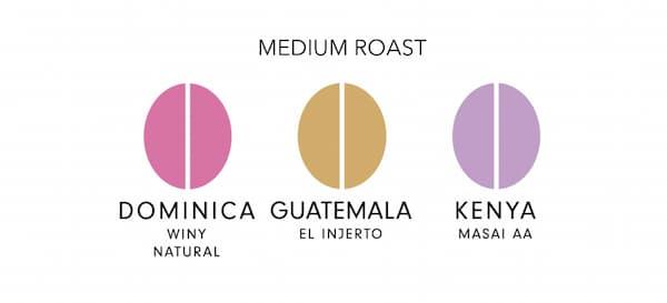 コーヒー豆のラインナップが素晴らしい