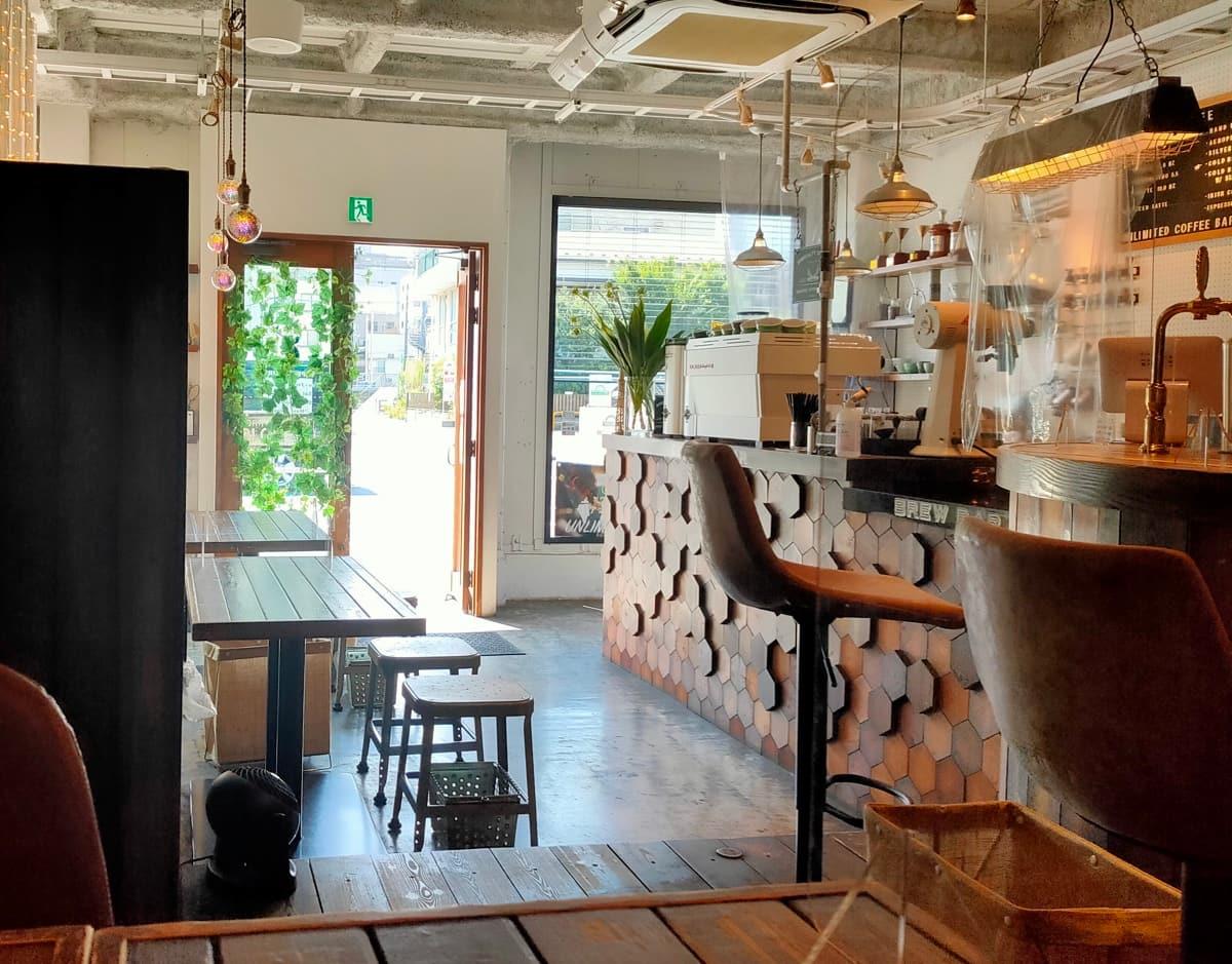 アンリミテッドコーヒーバー東京へのアクセス